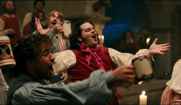 Check Out A NEW Clip Of Gaston From Disneys Live Action Beauty And