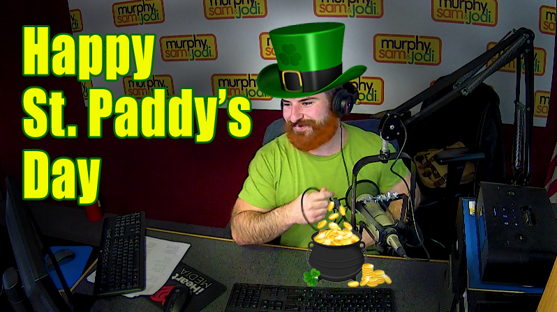 PODCAST: Producer David should be a leprechaun!