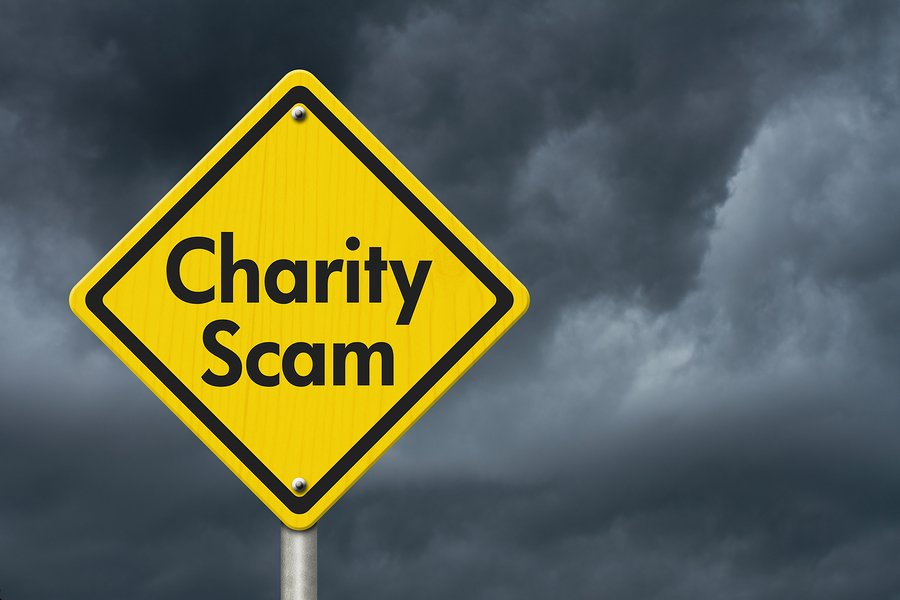 WARNING: Avoid Hurricane Harvey Charity SCAMS!