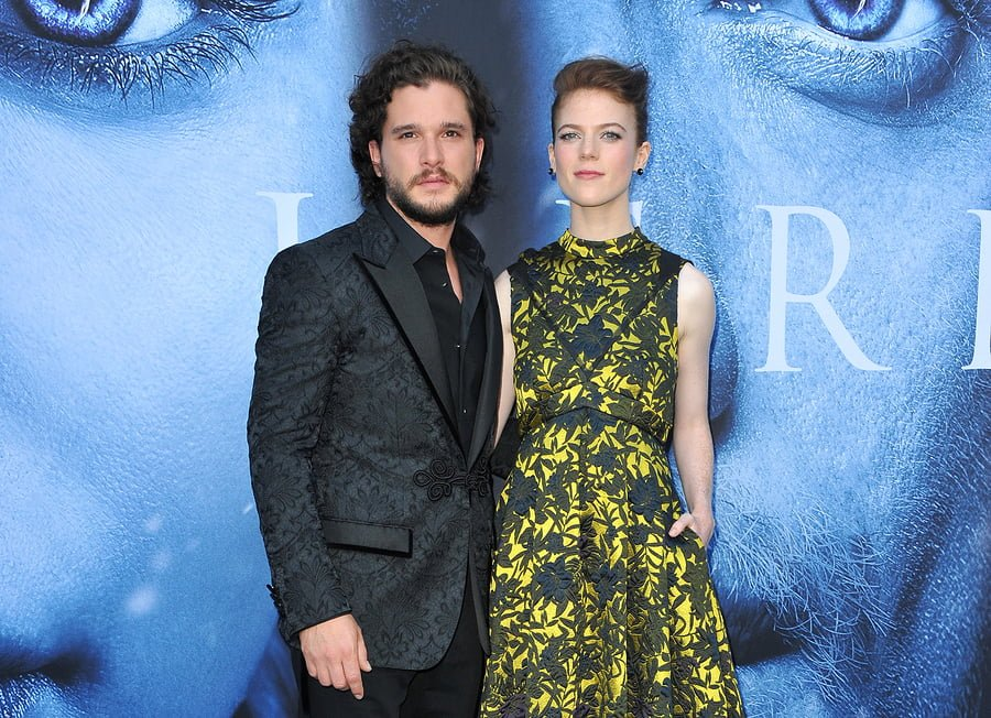 KIT HARRINGTON NOT ALLOWED TO READ 'GAME OF THRONES' SCRIPTS AROUND FIANCE, ROSE LESLIE