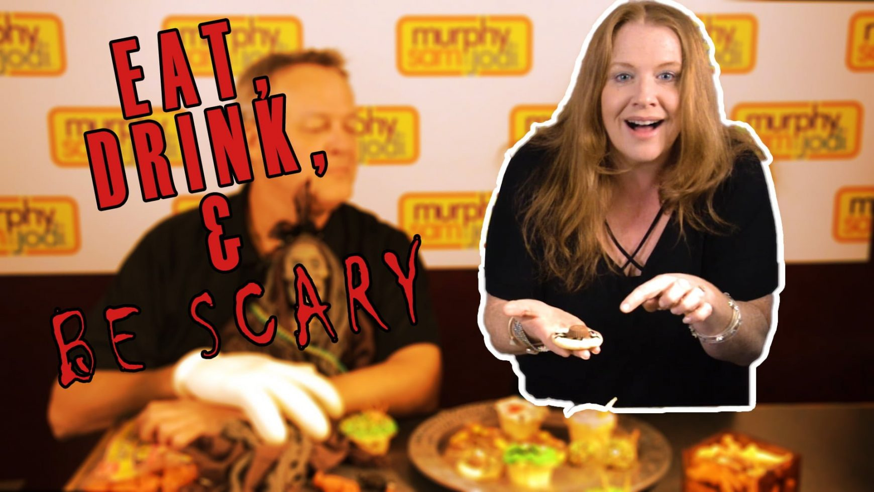 WATCH: Eat, Drink, and Be Scary