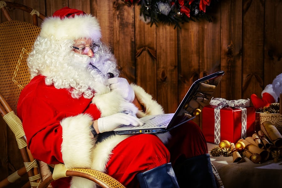 Email Santa Now!