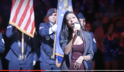 WATCH: M. Night Shyamalan's Daughter, Saleka Crushes the 'National Anthem' at 76ers Game