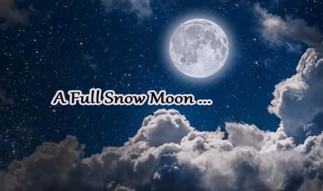 When to See the 'Snow Moon' Eclipse