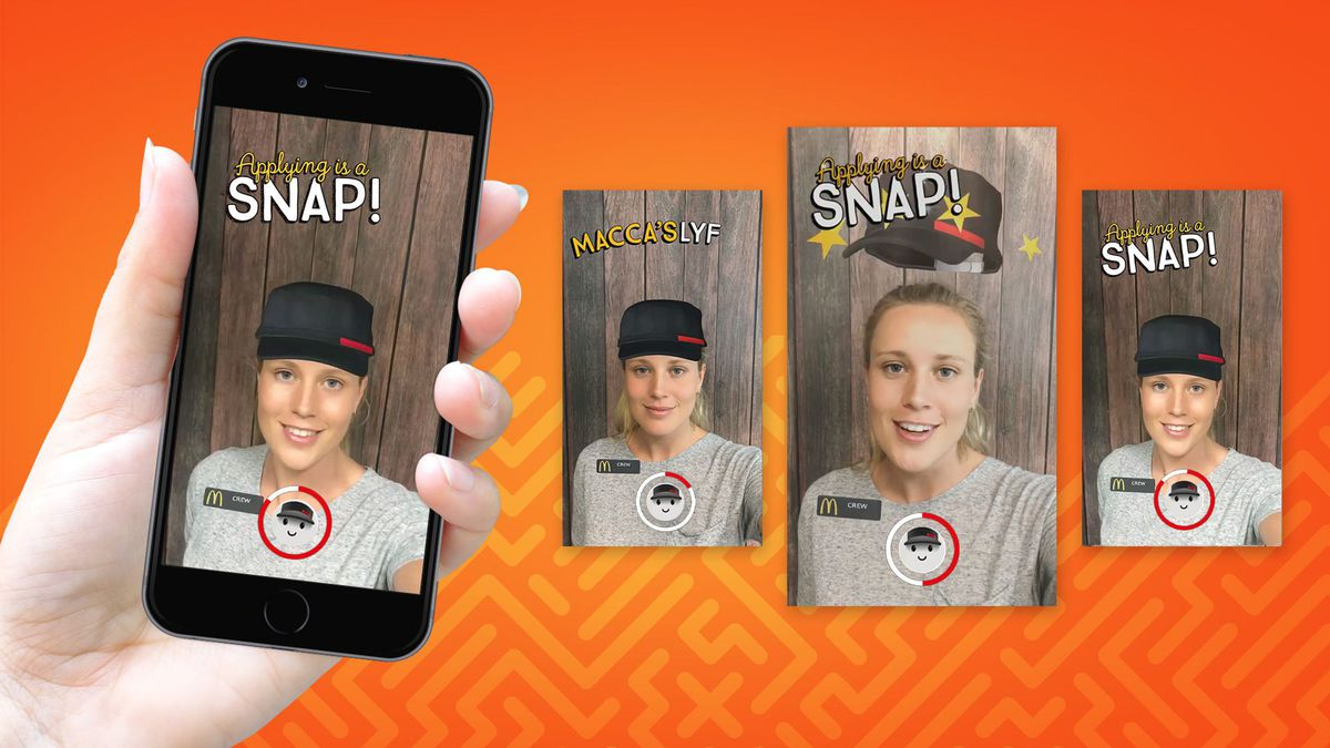 You Can Now Apply to Work at McDonald's…through Snapchat!