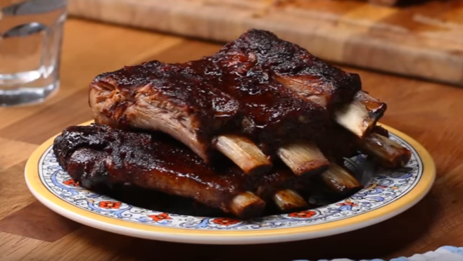 Sam's Honey Garlic Slow Cooker Ribs