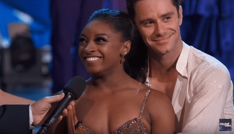 Shocker! Simone Biles Gets Voted Off DWTS