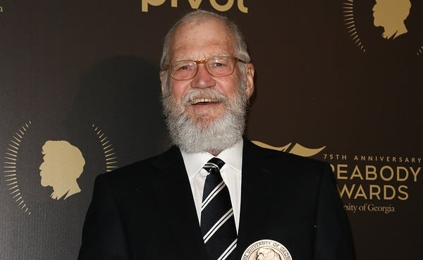 David Letterman Will Receive The Mark Twain Prize For American Humor