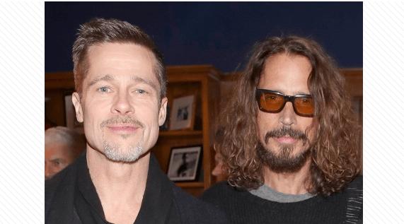 Brad Pitt takes Chris Cornell's kids to Universal Studios in Hollywood