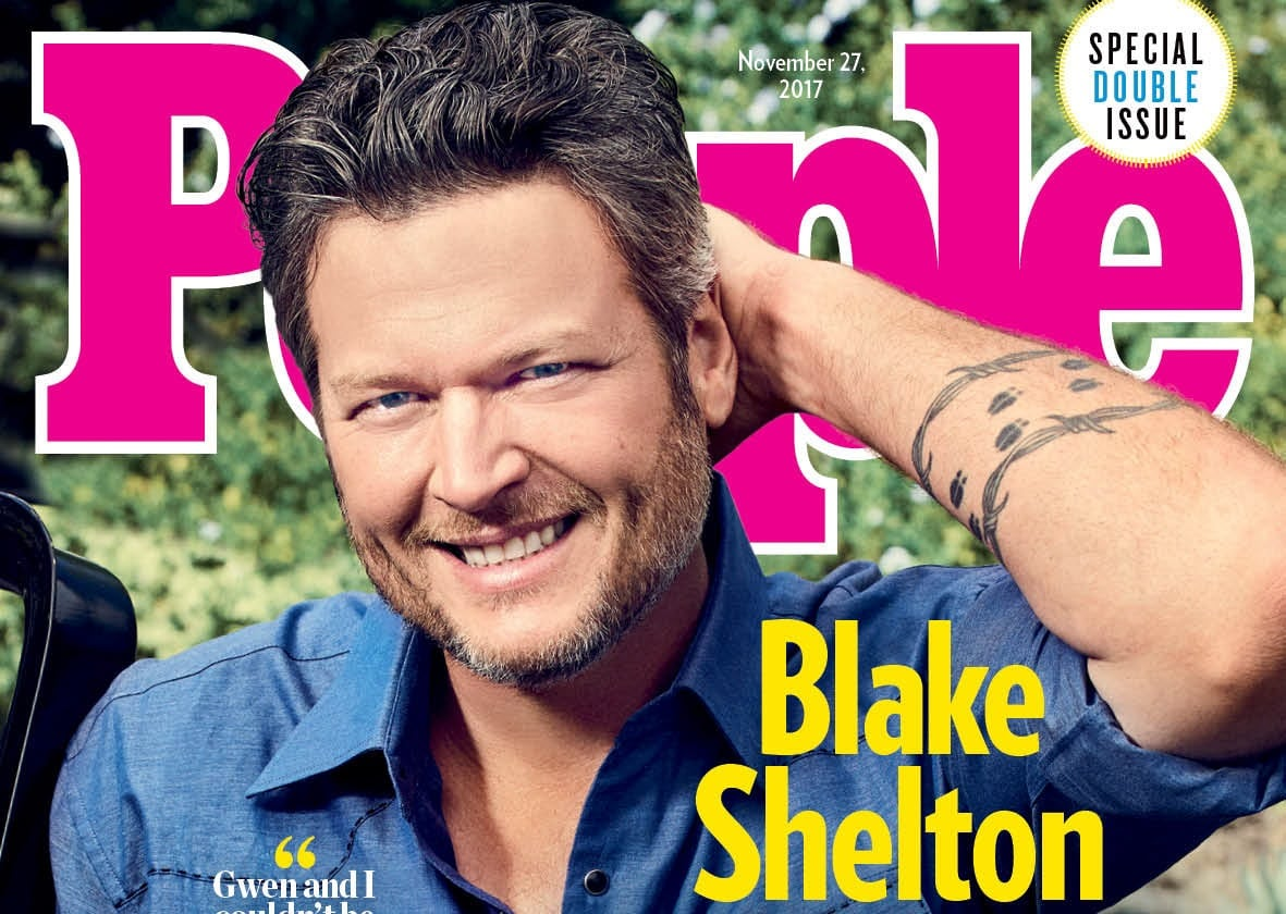 Blake Shelton – People's Sexiest Man Alive