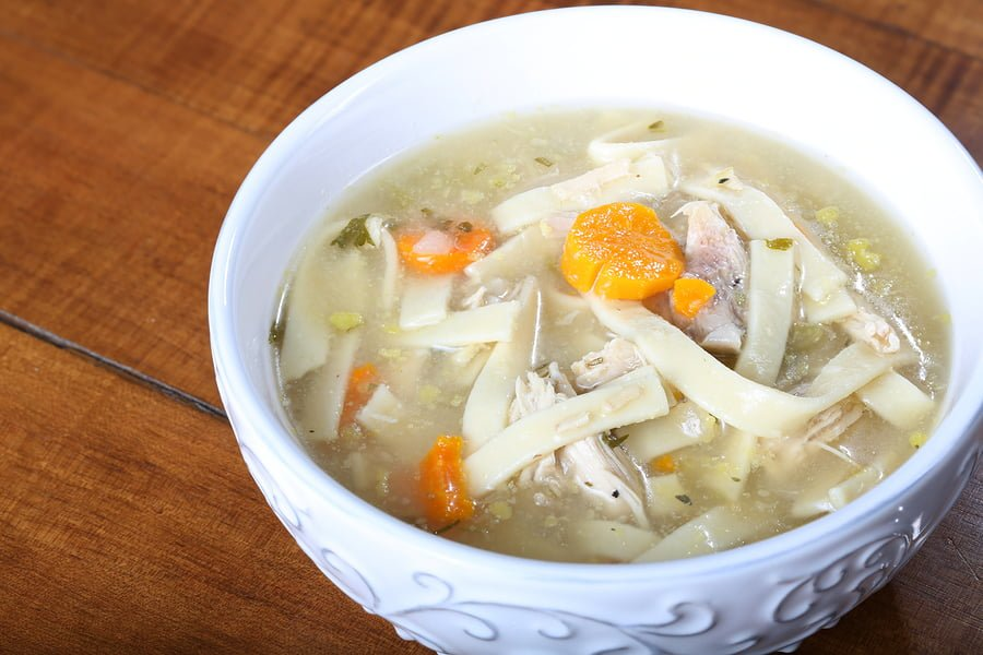 Jodi's Homemade Chicken Noodle Soup