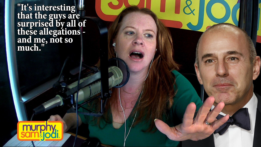 PODCAST:  Jodi's Take On The Matt Lauer Scandal