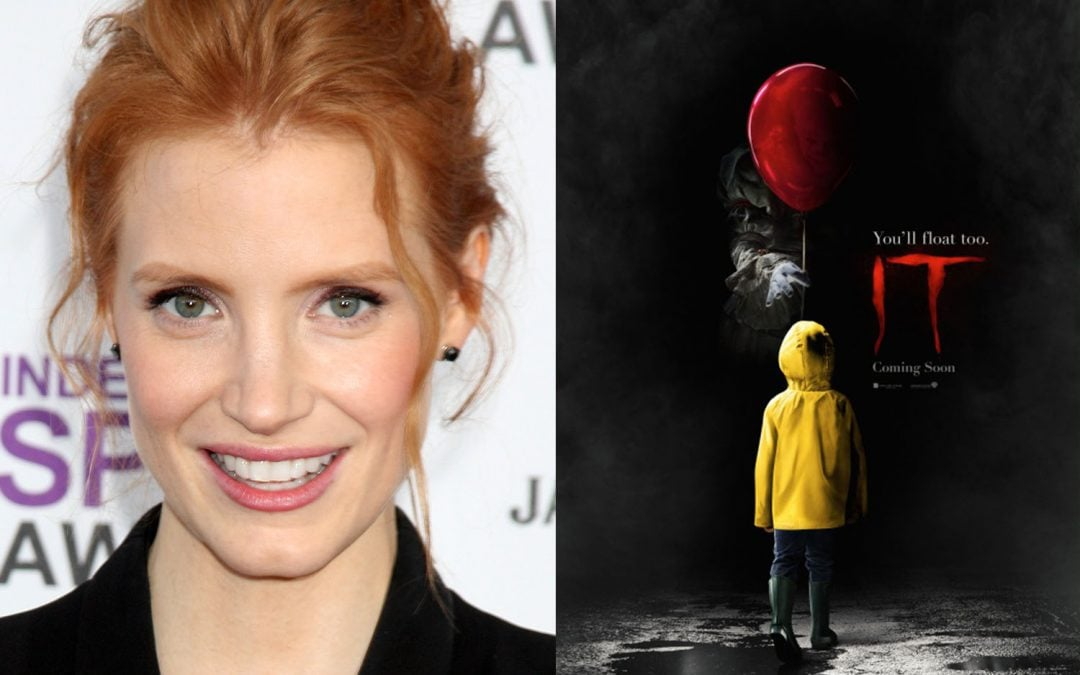 JESSICA CHASTAIN IN TALKS TO STAR IN SEQUEL TO STEPHEN KING'S 'IT'
