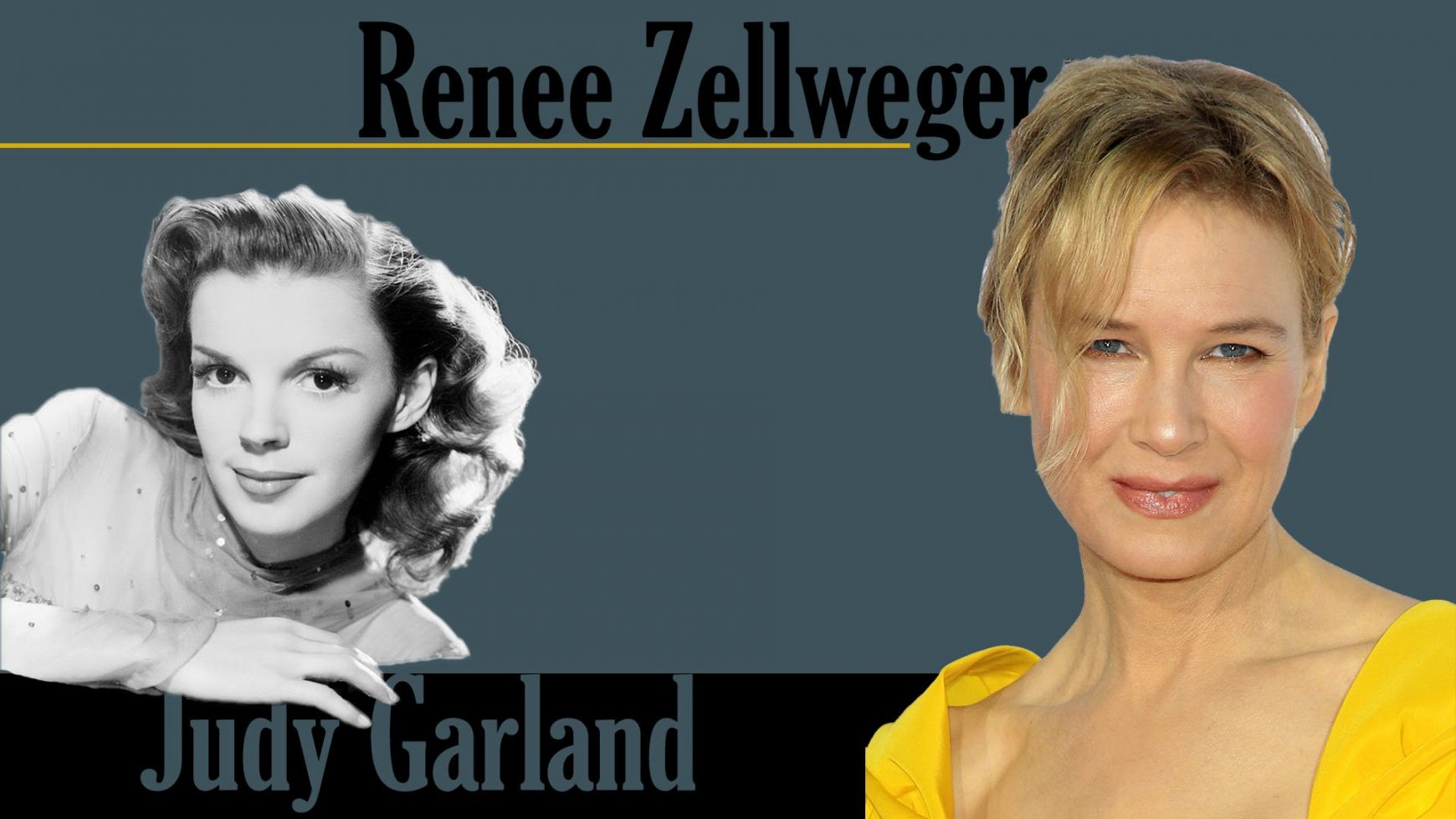 FIRST LOOK: RENEE ZELLWEGER AS JUDY GARLAND FOR UPCOMING BIOPIC