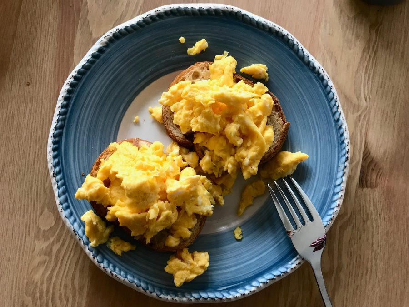 Murphy's Perfect Scrambled Eggs